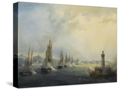 L'escadre française commandée par l'amiral Roussin force l'entrée du Tage devant Lisbonne, 11