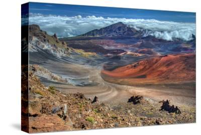 The Colorful Haleakala Crater, Maui, Hawaii