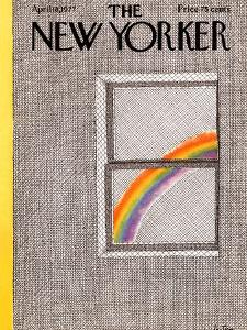 The New Yorker Cover - April 18, 1977 by Pierre LeTan