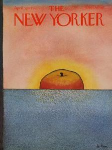 The New Yorker Cover - April 9, 1979 by Pierre LeTan