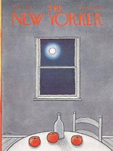 The New Yorker Cover - March 11, 1972 by Pierre LeTan