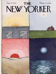 The New Yorker Cover - May 17, 1976 by Pierre LeTan