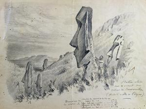 Monuments on Easter Island by Pierre Loti
