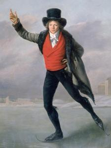 The Skater, 1798 by Pierre Maximilien Delafontaine