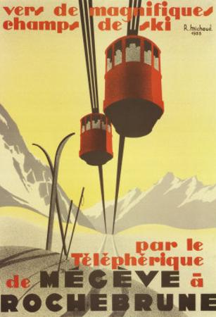 Megeve by Pierre Michaud