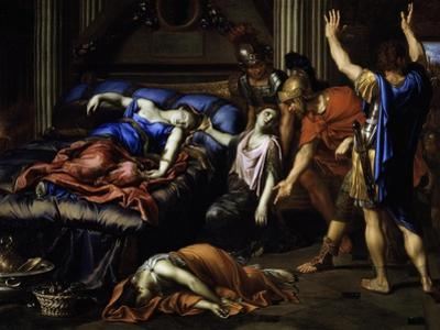 Death of Cleopatra by Pierre Mignard