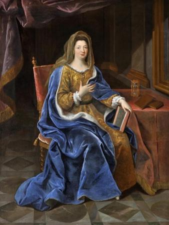 Françoise D'Aubigné, Marquise De Maintenon (1635-171) by Pierre Mignard