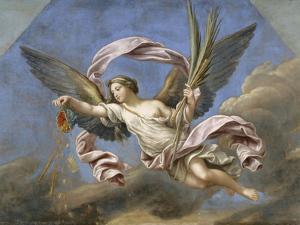 La Fortune ou l'Abondance et la Libéralité by Pierre Mignard
