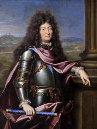 Louis XIV, King of France (1638-171) by Pierre Mignard