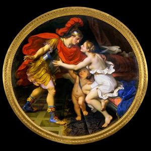 Mignard: Venus & Mars by Pierre Mignard