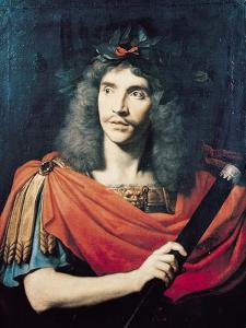 Moliere in the Role of Caesar in the Death of Pompey by Pierre Mignard