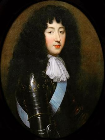 Philippe I, Duke of Orléans (1640-170) by Pierre Mignard