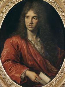 Portrait de Molière by Pierre Mignard