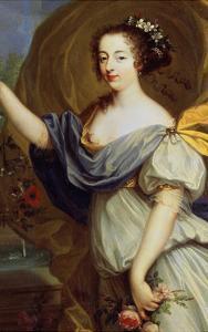 Portrait of Duchess De La Valliere as Flora, 17th Century by Pierre Mignard