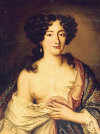 Portrait of Marie Mancini by Pierre Mignard