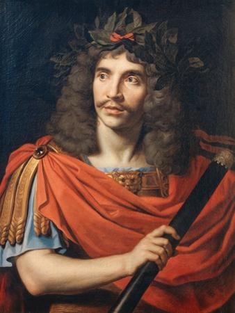 Portrait of Moliere as Caesar in the 'The Death of Pompey', 1657 by Pierre Mignard