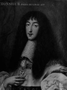 Portrait of Philippe, Duc D'Orleans (1640-1701) by Pierre Mignard