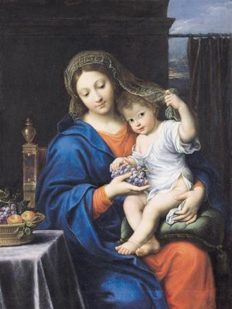 The Virgin of the Grapes, 1640-50