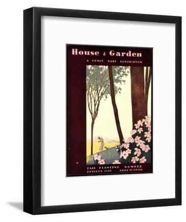 House & Garden Cover - October 1930