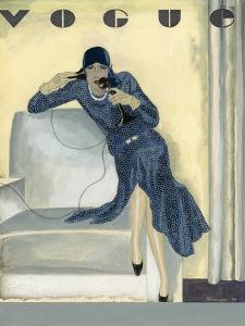 Vogue - April 1929 by Pierre Mourgue