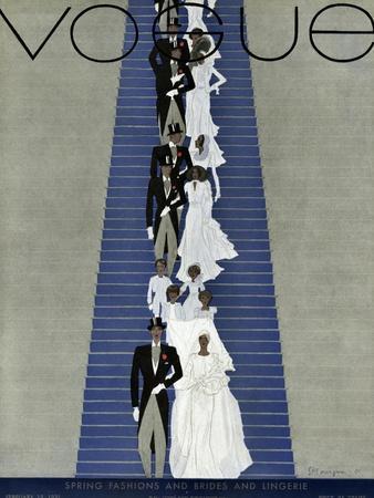 Vogue Cover - February 1931