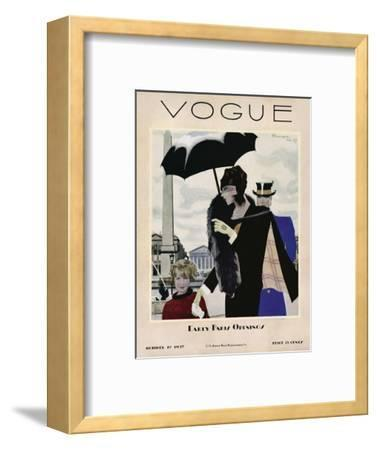 Vogue Cover - October 1927