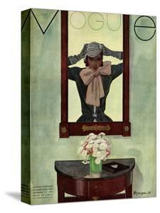 Vogue Cover - September 1931 by Pierre Mourgue