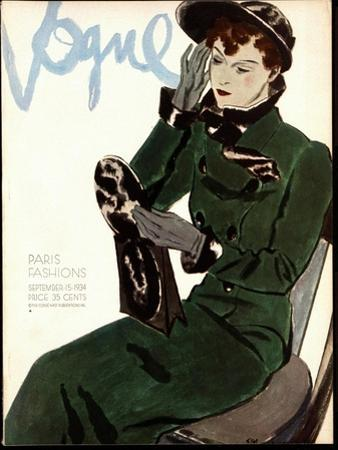 Vogue Cover - September 1934