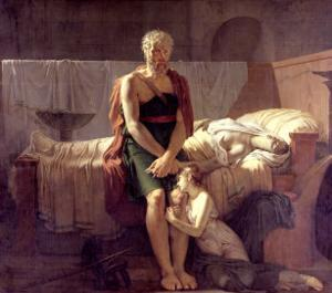 The Return of Marcus Sextus, 1799 by Pierre Narcisse Guérin