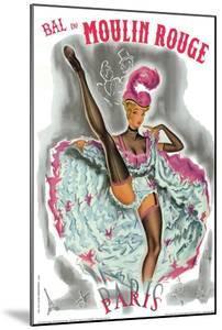 1962 Moulin Rouge cancan rose by Pierre Okley