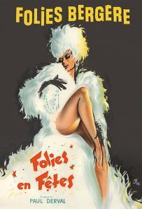 Folies Bergère - Folies en Fêtes (Folies Festivals) by Pierre Okley
