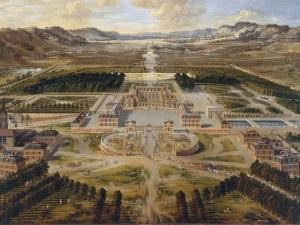 The Palace of Versailles, the Grand Trianon, Ca 1668 by Pierre Patel