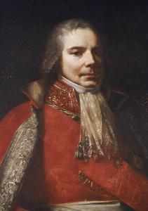 Charles-Maurice de Talleyrand-Périgord (1754-1838), en habit de grand chambellan by Pierre Paul Prud'hon