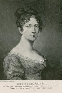Elisa Bonaparte by Pierre-Paul Prud'hon