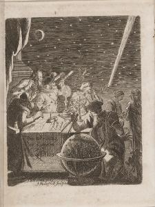 Observing the Heavens in the Age of Galileo, 1681 by Pierre Petit