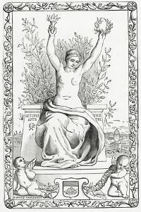 Allegory of Paris,19th Century by Pierre Puvis de Chavannes