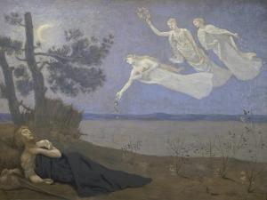 Der Traum. 1883 by Pierre Puvis de Chavannes