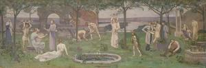 Inter Artes et Naturam (Between Art and Nature), c.1890-95 by Pierre Puvis de Chavannes