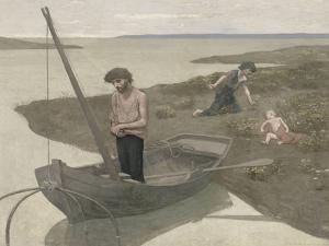 Le pauvre pêcheur by Pierre Puvis de Chavannes