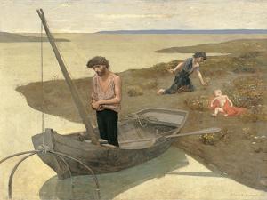 Poor Fisherman by Pierre Puvis de Chavannes