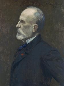 Self Portrait, 1887 by Pierre Puvis de Chavannes