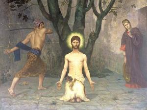 The Beheading of St. John the Baptist, 1869 by Pierre Puvis de Chavannes