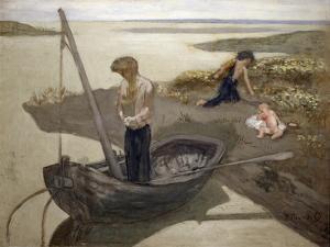 The Poor Fisherman, 1879 by Pierre Puvis de Chavannes