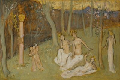 The sacred grove, 1883