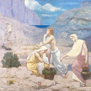 The Shepherd's Song by Pierre Puvis de Chavannes