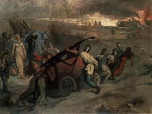 The Village Firemen, 1857 by Pierre Puvis de Chavannes