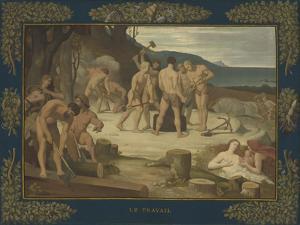 Work, c.1863 by Pierre Puvis de Chavannes