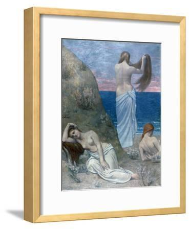 Young Girls by the Sea, before 1894