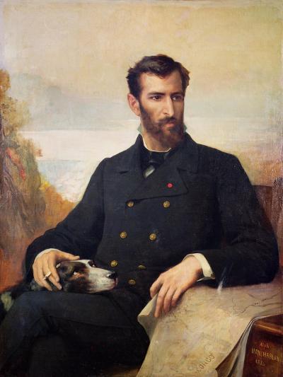 Pierre Savorgnan De Brazza 1886-Xavier Alphonse Monchablon-Giclee Print