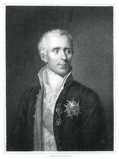 Pierre Simon Laplace, French Mathematician and Astronomer-J Posselwhite-Giclee Print